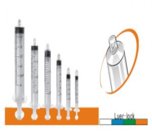 Three-parts syringe yw-01