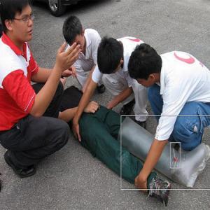E110 air splint for spinal bord