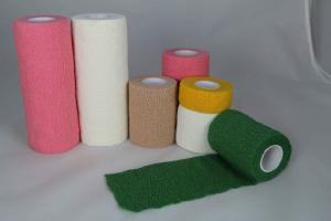 Cotton cohesive tape/ cohesive bandage