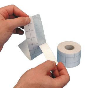 Non waven adhesive dressing fix tape