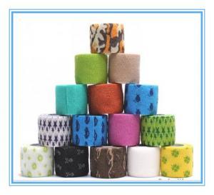 Non woven cohesive tape