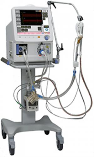 Piston HFO/IMV ventilator for neonate and infant Humming Vue