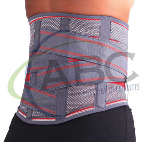 KB 724 Knitted Back Brace Lumbosacral