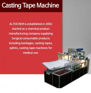 Casting Tape Machine
