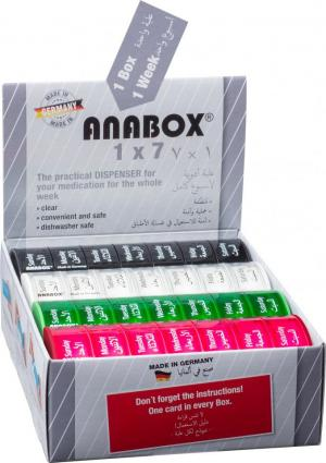 ANABOX® 1 x 7 U.A.E. - Display
