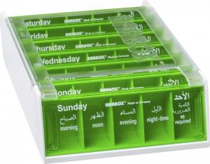 ANABOX® 7 Days YELLOWGREEN