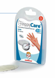 HappyCare BURN Transparent Band-Aid for Burns