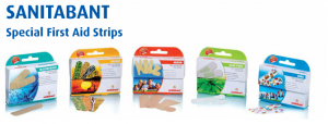 SANITABANT Special First Aid Strips