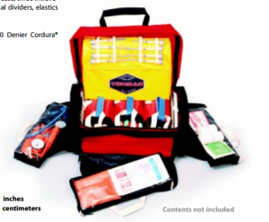 First aid emergency pack