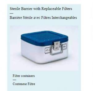 Sterile Barrier with Replaceable Filters