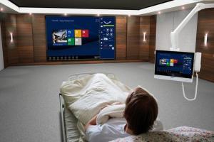 Hospital infotainment systems