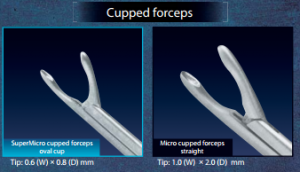 Cupped Forceps