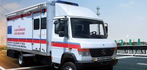 Box Type Mobile Healthcare Vehicle