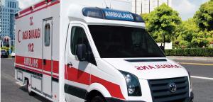 EMS Four Patients Transport Ambulance