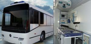 Mobile Healthcare Vehicle (Bus)