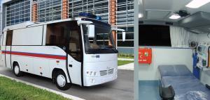 Mobile Healthcare Vehicle (MidiBus)