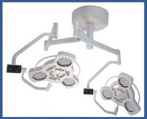 LED C 16ET/16ET - Dual head ceiling operating light system