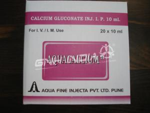 Calcium Gluconate Injection I. P. 10ml