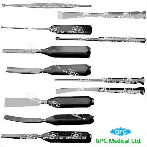 Chiesele, Osteotomes, Gauges and Curette