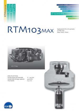 CT rotating anode X-Ray tube insert