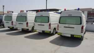 Toyota Hi Ace Hi Roof Ambulance