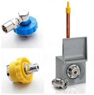 AFNOR connectors and outlets