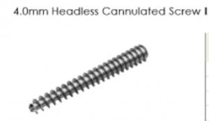 4.0mm Headless Cannulated Screw I