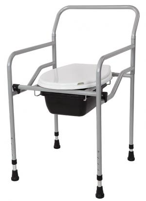 KT-770 Foldable Commode Chair