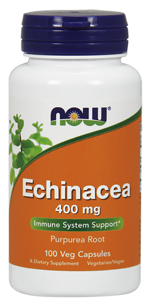 NOW Echinacea 400 mg Capsules