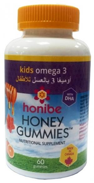 Honibe Kids Honey Gummies Omega 3