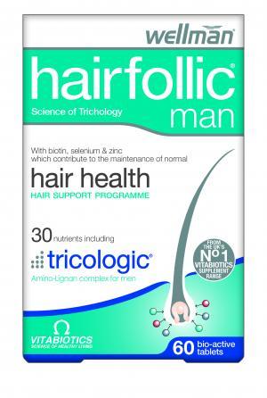 Vitabiotics Hairfollic Man 60 Tabs