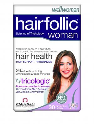 Vitabiotics Hairfollic Woman 60 Tabs