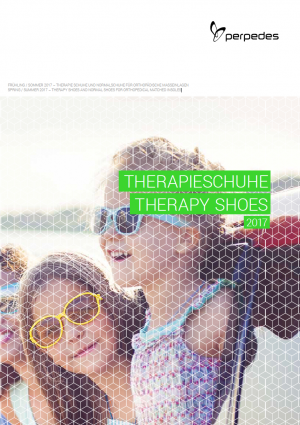PERPEDES' THERAPY SHOES for Foot orthoses, AFOs / DAFOs