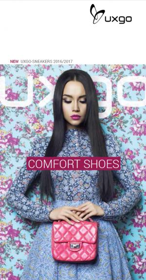 UXGO_Comfortable Footwear for Hallux valgus