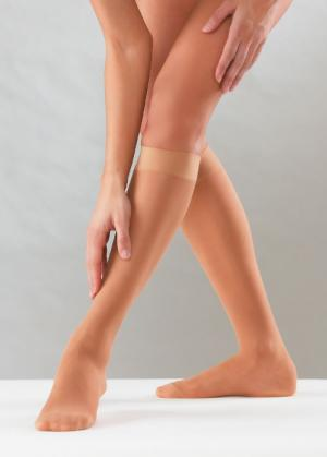 "Preventive ""Sheer Line"" Knee-highs"