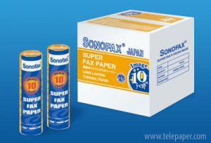 Premium Grade Thermal Fax Paper - Super 10 years