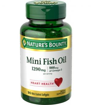 NATURE'S BOUNTY MINI FISH OIL SOFTGELS