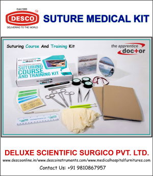 SUTURING COURSE AND MEDICAL KIT