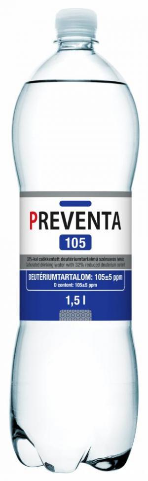 Preventa 105 deuterium-depleted drinking water