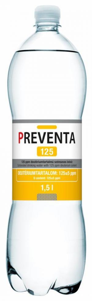 Preventa 125 deuterium-depleted drinking water