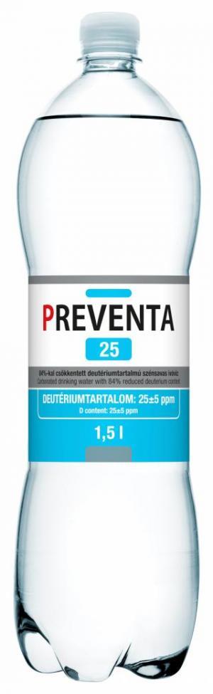 Preventa 25 deuterium-depleted drinking water
