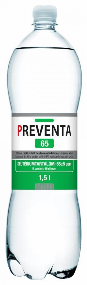 Preventa 65 deuterium-depleted drinking water