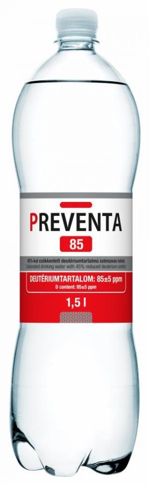 Preventa 85 deuterium-depleted drinking water