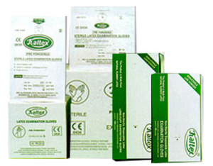 'KALTEX' Sterile Powdered Examination Latex Gloves – (Singles & Pairs)