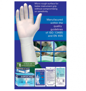 Surgicare - Sterile Latex Powdered Surgical Gloves