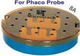 ROUND PHACO TRAY - PLASTIC STERILIZATION TRAY