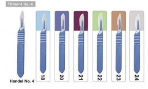 Disposable & thumb Scalpel -4