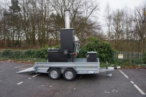Small Trailer Mounted Incinerator