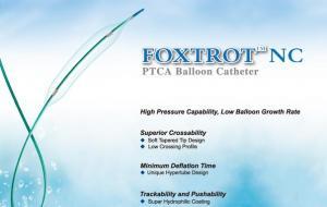 FOXTROT™ NC PTCA balloon catheter