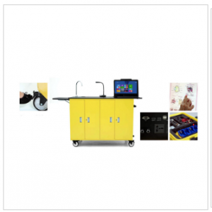 Mobile Science Lab Workstations Cart-WRMLT212